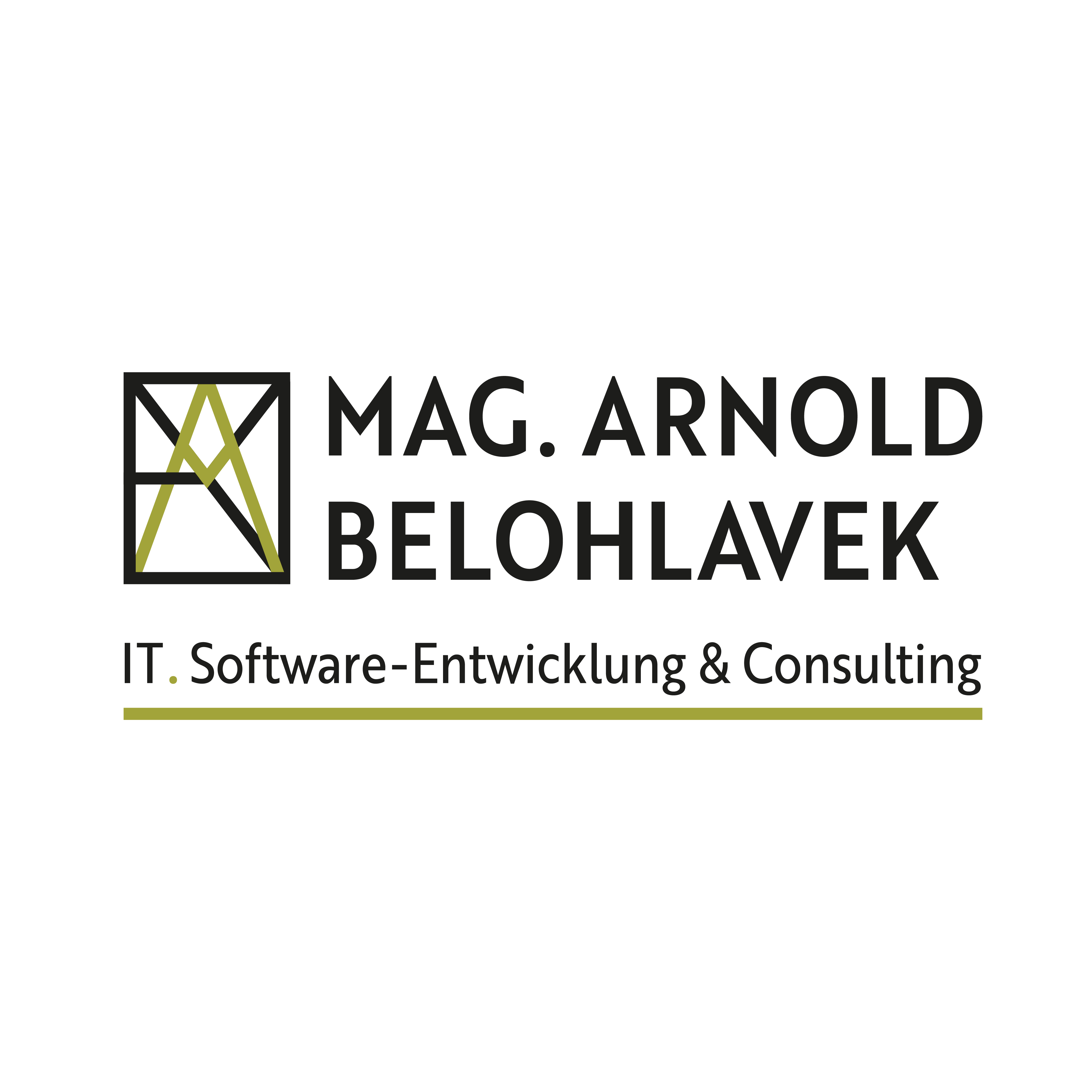 logo mag. arnold belohlavek. IT. software-entwicklung & consulting